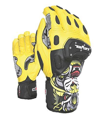 Level Herren SQ CF Handschuhe, Yellow, 10 - Level-herren Race-handschuh
