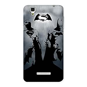 Delighted Day Grey Knight Multicolor Back Case Cover for Yu Yureka