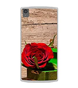 Fuson Designer Phone Back Case Cover OnePlus X :: One Plus X ( A Rose In A Box )