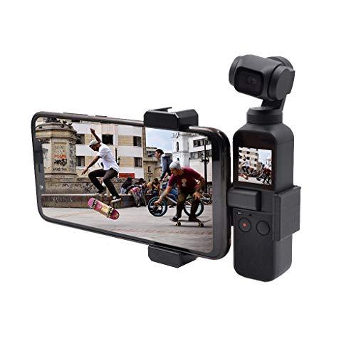 bescita Camcorder Mount Adapter Platte Halterung Kamerahalterung Befestigungsbügel für DJI Osmo Pocket Mobile Gimbal Stabilisator Zubehör
