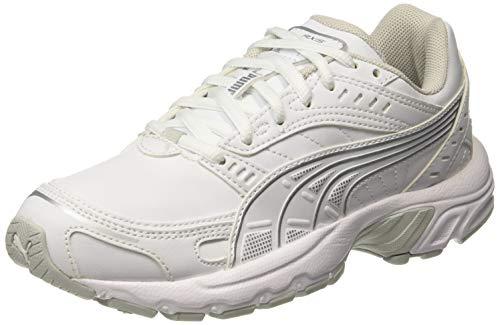 Puma Axis SL', Scarpe da Fitness Unisex-Adulto, Bianco White-Glacier Gray, 39 EU