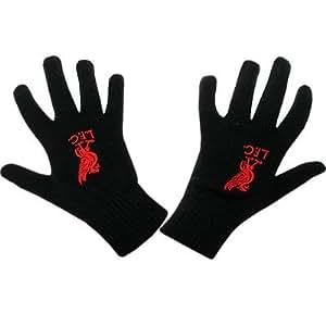Liverpool FC Gloves (Black)