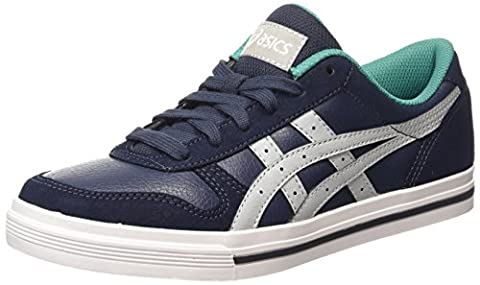 ASICS Aaron, Sneakers Basses adulte mixte - Bleu (indian Ink/light Grey 5013), 40.5 EU