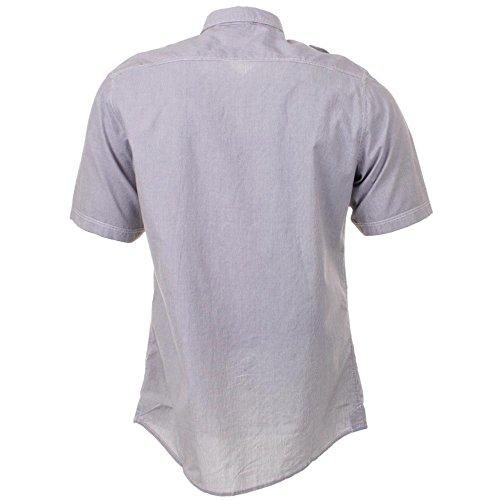 Firetrap pour homme avec chemis'à manches courtes rayée stade Gris - Gris