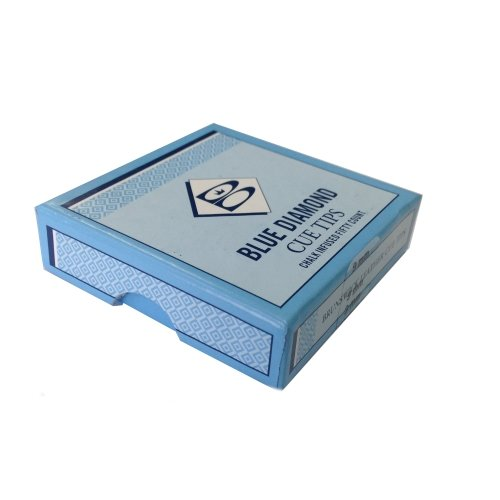 Blue Diamond Snooker oder Pool Queue Tipps Packung mit 50 -