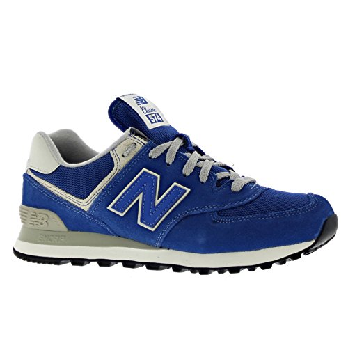 new-balance-574-womens-suede-textile-trainers-navy-365-eu