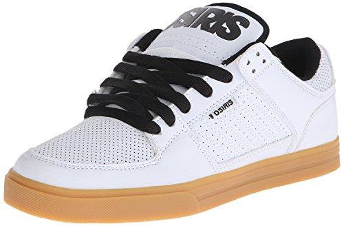 Osiris Shoes Protocol Shoe - Noir/Noir/Noir - Taille 7 UK, 8 US, 40.5 EUR, 26 JPN Blanc/gomme