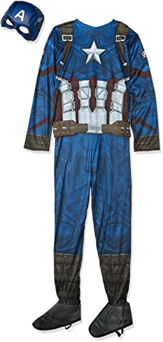 Captain America 3 Deluxe Captain America Costume Adult (Kostüme Adult Deluxe Standard)