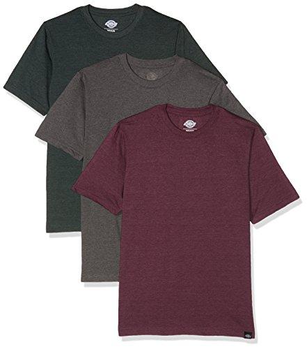 Dickies Herren T-Shirt Hastings, 3er Pack, Gr. Medium, Mehrfarbig (Assorted Colour AS)