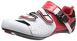 Serfas Men s Zirconium Cycling Shoe White/Red 11-11.5 D(M) US