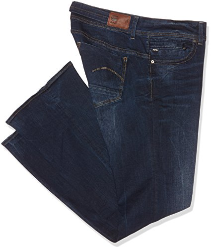 G-STAR RAW  Damen Jeanshose Midge Saddle Mid Bootleg Wmn, Blau (Dk Aged 89), W29L36 (Herstellergröße 29 36) (Jeans Bootleg-cut)