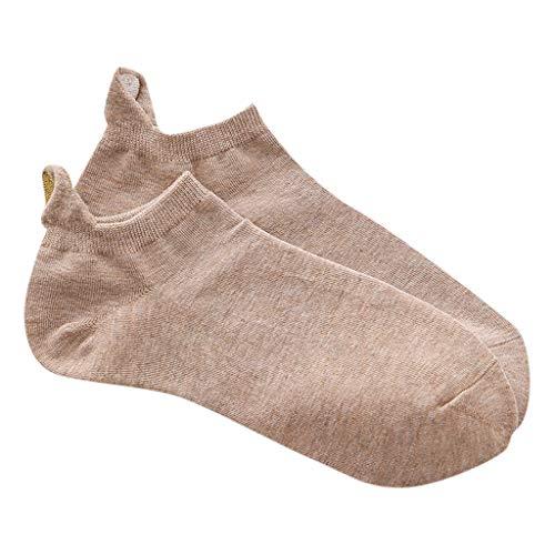Lomsarsh Mädchen-Socken, Frauen-beiläufige Art- und Weiseunregelmäßiges Herz-Baumwollsocken-Sport-Kurze Socken-Baumwollkurze Mannschafts-Strümpfe Weinlese-Hochschulart-Boots-Socken-Söc - Rohr Mädchen Socken