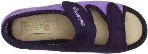 Padders, Scarpe da ginnastica, Donna Viola (Purple))