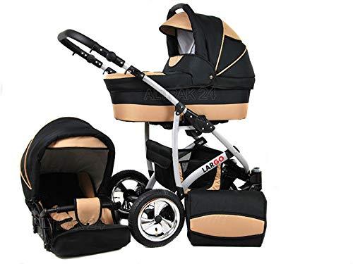 +++ SALE Raff Largo System Kinderwagen Babywagen Buggy, Autositz Kinderwagen System 3 in1 +...