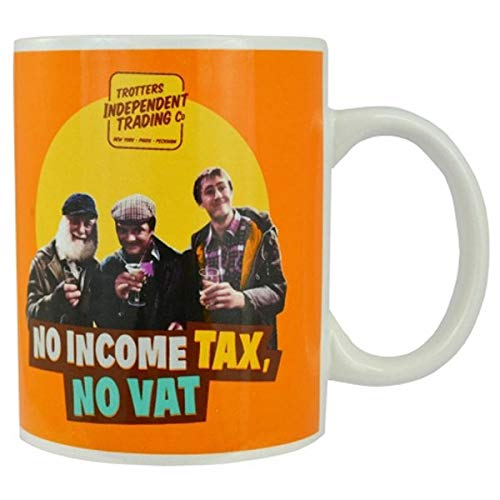 No Income Tax, No Vat - Giant Mug - Gift Boxed