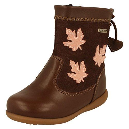 Start-rite, Stivali bambine, Marrone (Brown Leather), 5.5 UK