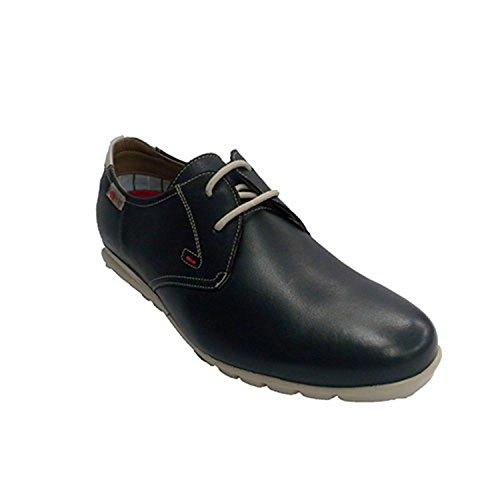 lacci per le scarpe di tipo sportivo uomo molto morbido NUPER blu navy taille 44