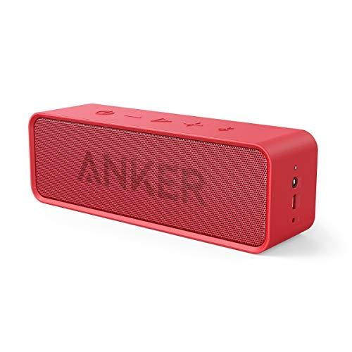 Anker Altoparlante Bluetooth Soundcore (Speaker Portatile Senza Fili e Microfono Incorporato con Doppia Cassa, Audio di Alta qualità con Bassi Puliti e Incredibile Durata di Riproduzione di 24 Ore)