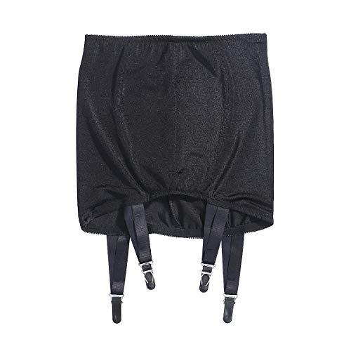 CIPOPO Frauen Perspektive Strapshalter Strapse Dessous Oberschenkel Highs Strumpfgürtel Lingerie Strumpfhose für Strumpfgürtel und Hosenträger Gürtel (black, XL)