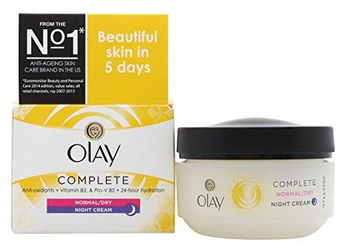 Olay Complete Care Crème Nuit 50 ml peau normale/sèche/Grasse