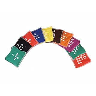 American Educational Products Numbers Beanbags, 5