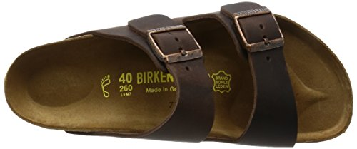 Birkenstock Arizona , Unisex - Kinder Clogs & Pantoletten aus Birko-Flor Mokka