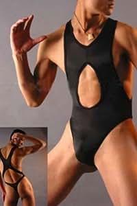 Sexy weibliche Stripperin und Schwarz