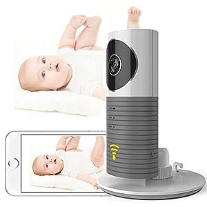 Kabellose Security Kamera Baby Monitor IP Kamera Home Security ¨¹berwachung mit Bewegungserkennung,Stereo 2 Wege Audio zum Gegensprechen,PIR Nachtsichtmodus, Alarm Informationen