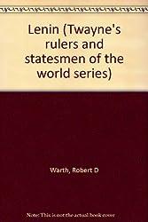 Lenin (Twayne's rulers and statesmen of the world series)