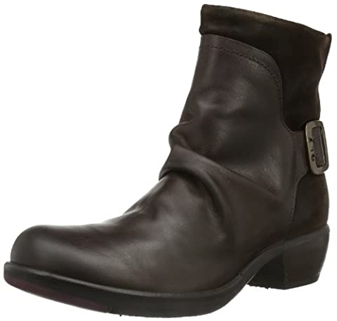 Fly London MEL, Damen Biker Boots, Braun (DK BROWN 001), 39 EU