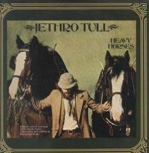 HEAVY HORSES LP US CHRYSALIS 1978