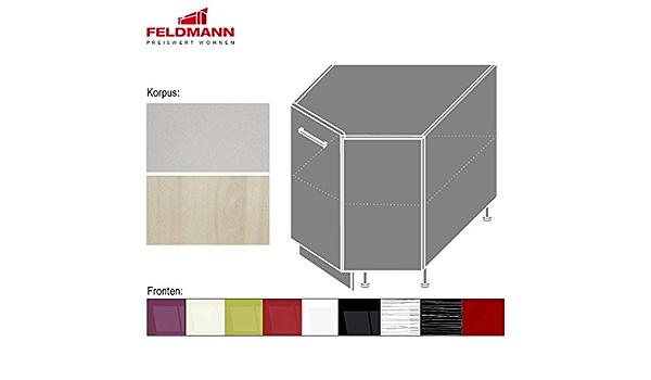 Küchenschrank Woodline 89x89 DN 1F Regal Schrank Küche Kollektion Hochglanz