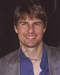 A4de Tom Cruise signé autographe Affiche de photo