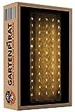 Lichtervorhang 1x1,8 m mit 60 Sterne LED Lichterkette für hohe Fenster Weihnachten