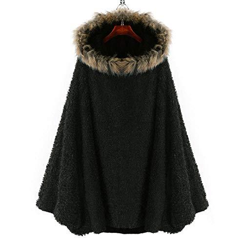 Chaqueta abrigo mujer invierno Europa América capucha