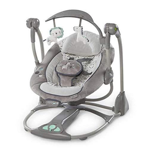 Hongge Babywippe,Elektrische Baby Schaukel Schaukelstuhl Neugeborenes Baby elektrische Musik Rocking Chair