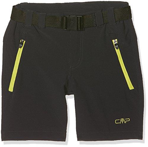 CMP F.lli Campagnolo Jungen Bermuda, Anthracite-Lime, 152 (Campagnolo Shorts)