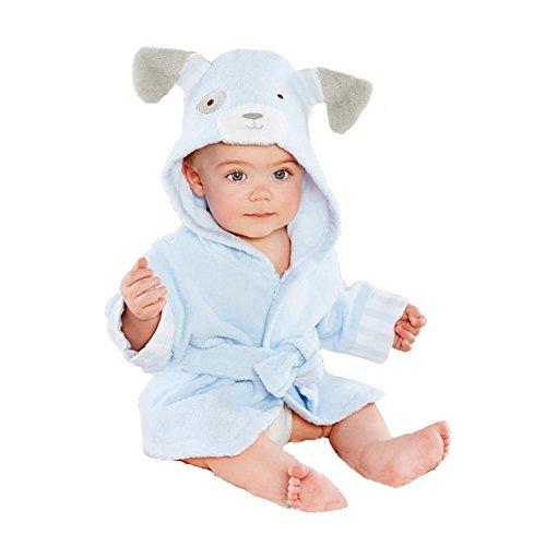 Minuya Albornoces Bebe, Bata de Baño Bebe Forma Animal Linda/Albornoz Suave de...