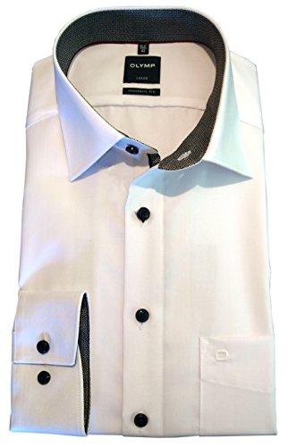 Modern Fit Hemd Langarm m New Kent Kragen 42  Weiß  gefunden bei ... 6a4e633a4e