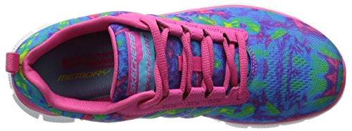 Skechers Flex Appeal Whirlwind, Chaussures de Running Compétition femme - fuchsia