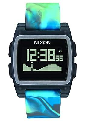 Nixon Reloj Hombre de Digital con Correa en Silicona A1104-3176-00