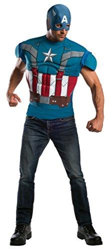 ica Winter Soldier und muskulös retro Männer ()