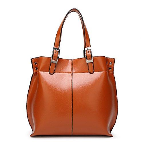 Mefly Tracolla Messenger Bag Borsetta Nuova Marea Spalla Moda Messenger Gules brown