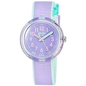 FlikFlak Mädchen Analog Quarz Uhr mit Stoff Armband FPNP044