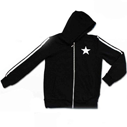 Improved version [Black Rock Shooter] hooded parka size XL Unisex Hatsune Miku BLACK ROCK SHOOTER VOCALOID Vocaloid cosplay everyday wear CaseEden (japan import)