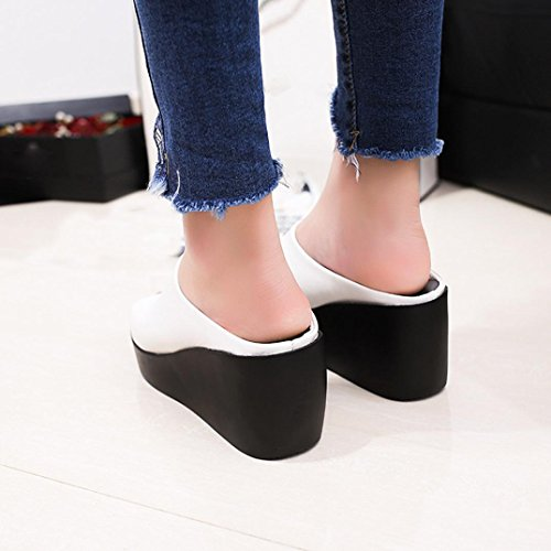 Pantofole Modo Scarpe Di Delle Transer Bianco Donne ® Estate gSEqEZ