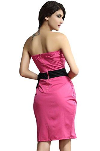 Dissa® femme Rose SY2940-2 robe de cocktail Rose