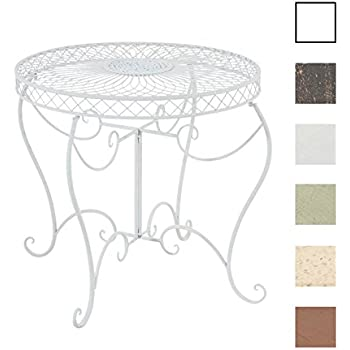 CLP Table Ronde de Jardin Sheela - Table de Jardin Design en ...