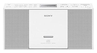 SonyRadio Portable ZS-PE60 USB/MP3/CD, Blanche