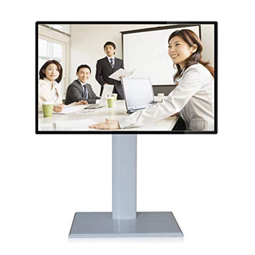 Xue Rolling TV Stand Mobile TV Cart, Für 32-60 Zoll LED LCD Plasma TV Flat Panel Displays 360 º of Swivel Home Office Bedroom Klassenzimmer Meeting Room Video-Call -